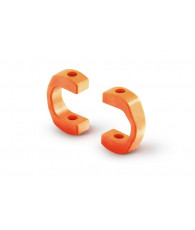 DRIVE SHAFT REPLACEMENT PLASTIC CAP 3.5 MM - ORANGE - STRONG (4) - 30