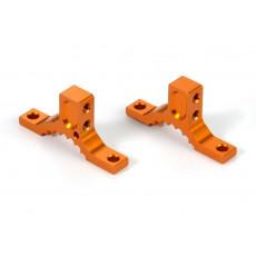 ALU UPPER CLAMP REAR - SWISS 7075 T6 - (L+R) - 333037 - XRAY