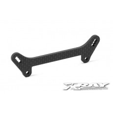 GRAPHITE SHOCK TOWER FRONT - 342080 - XRAY