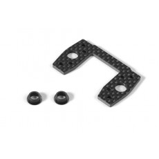 GRAPHITE CENTER DIFF MOUNTING PLATE - 354057 - XRAY