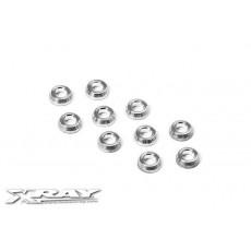 XB4 Rondelles coniques alu (10) - XRAY - 362280