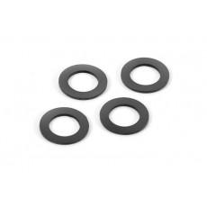 Joints bouchons d'amortisseurs alu (4) - XRAY - 368091