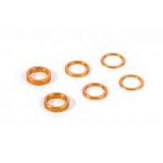 Jeu de rondelles alu orange (0.5-1.0-2.0) - XRAY - 375090-O
