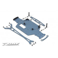 M18 Pro LiPo Kit carbone Bleu - XRAY - 381155-B
