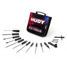 Set outils pour TT 1/8 + trousse - HUDY - 190003