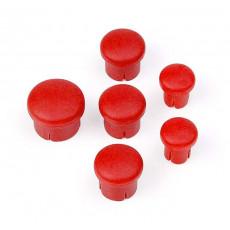 Bouchon de manche Rouge (6) - HUDY - 195020