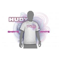HUDY T-SHIRT - WHITE (XL) - 281045XL - HUDY