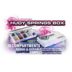 Boite de rangement 10 compart. - Petite - HUDY - 298013
