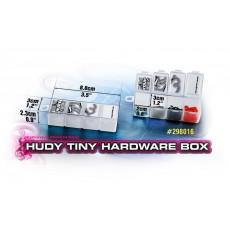 Boite de rangement 4 compart. - Petite - HUDY - 298016