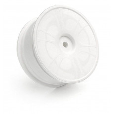 HUDY 24MM WHEELS STARBURST AERODISK - WHITE - EXTRA HARD - V3 (4) - 8