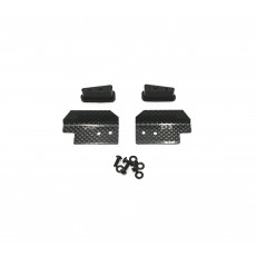 Front upper arm wings for Xray XB8 (2) - 03AR1112 - AIGOIN RACING