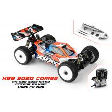 XRAY XB8'20 - 1/8 NITRO OFF-ROAD + FX K301 COMBO - XRAY - 350015-C