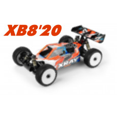 XRAY XB8'20 - 1/8 LUXURY NITRO OFF-ROAD CAR - 350015 - XRAY