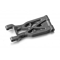 LONG SUSPENSION ARM REAR LOWER LEFT - GRAPHITE - XRAY - 363123-G