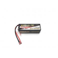 Lipo battery 14.8V 75C 6500mah 4S Stick Dean - VANT - V0400