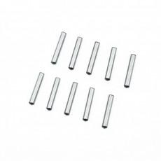 2.5X14.8MM CHROME STEEL PIN SET (10PCS) - ULTIMATE - UR7601