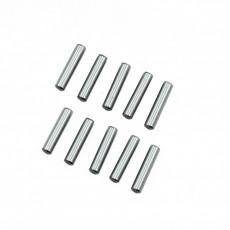 3X13.8MM CHROME STEEL PIN SET (10PCS) - ULTIMATE - UR7603