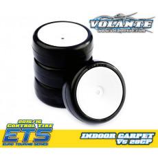 Volante V5 1/10 TC 28CP Indoor Carpet Tire - VOLANTE - VT-V5-PG28CP