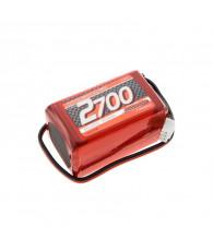 LiPo 2700mAh RX-Pack 2/3A Hump - 7.4V - NOSRAM - 943004
