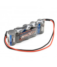 Xtec RX-pack Straight 2/3A NiMh 1600mAh - 6.0V - NOSRAM - 999603