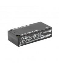 Lipo Battery HV LCG Shorty Graphene 5900mAh 7.6V - NOSRAM - 999659