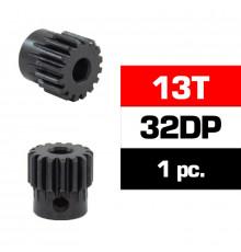 HSS STEEL 32DP PINION GEAR 13T W/5.0mm BORE - ULTIMATE - UR4312-13