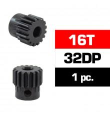 HSS STEEL 32DP PINION GEAR 16T W/5.0mm BORE - ULTIMATE - UR4312-16