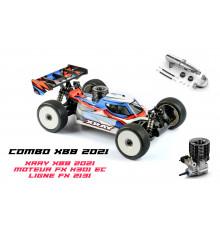 XRAY XB8'21 - 1/8NITRO OFF-ROAD CAR + FX K301 COMBO - XRAY - 350016-C