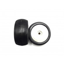 Pair of Truggy tyres Bangkok V2 Soft mounted on wheels - HOT RAC