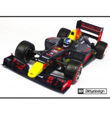F1 Type-6R 1/10 clear body Light - BITTYDESIGN - BDF1-T6R