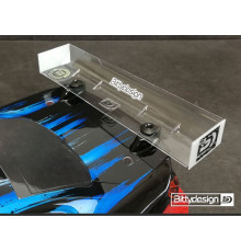 Rear HARD Wing for 190mm 1/10 TC Modified - BITTYDESIGN - BDRW-190MOD