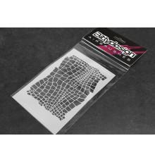 Vinyl stencil - Snake - BITTYDESIGN - BDSTC-009