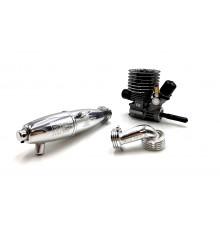 FX T300 - COMBO: ENGINE + MUFFLER 2696 + MANIFOLD - SHORT - FX - 6300