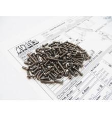 RC10B6.3 & B6.3D Titanium Hex Socket Screw Set - 48671 - HIRO SEIKO