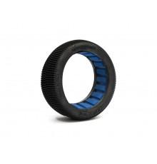 Pair of Truggy tyres AMAZZONIA Medium + Insert - HOT RACE