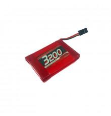 LiPo 3200mAh TX-Pack Sanwa M17/MT-44 - NOSRAM - 943005