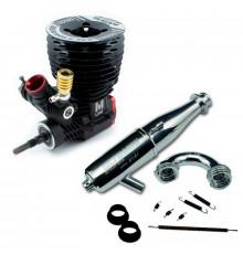 ULTIMATE ENGINE M5S CERAMIC WITH 2141 PIPE SET - UR3401-M5SE2141